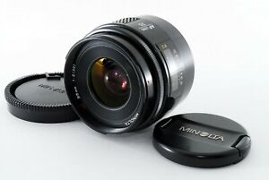 Fedex [Exc+5] Minolta AF 35mm f/2 Sony A α Alpha Mount Wide angle Lens Japan 376