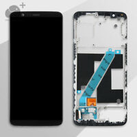 For OnePlus 5T A5010 1+5T Replacement LCD Display Touch Screen Digitizer + Frame