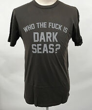 Loser Machine Dark Seas Men's T-Shirt WTF Graphite Size L NEW