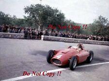 Juan Manuel Fangio Lancia Ferrari D50 Syracuse Grand Prix 1956 fotografía 1