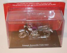 IXO - TRIUMPH T120 BONNEVILLE (1967) Purple - Motorcycle Model Scale 1:24