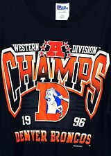 1996 Denver Broncos Western Division T-Shirt Pro-Player Sz XL NWOT