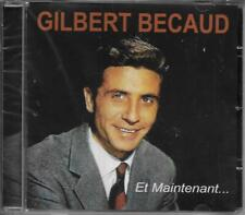CD 20 TITRES GILBERT BECAUD ET MAINTENANT BEST OF 2012 NEUF SCELLE GO 1179-2