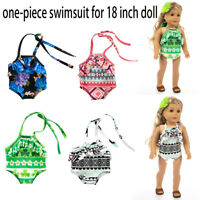 Multi One-piece Swimsuit Clothes Girl Toy For 18 inch Doll Accessory Gril's Toy