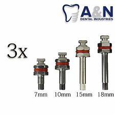 3 Hex Drivers 2.4mm for Abutment Dental Implant Surgical Instrument​s, Free Ship