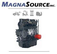 Mitsubishi S4S Forklift Engine - Diesel - CAT - 13 Month Warranty - Magna Source