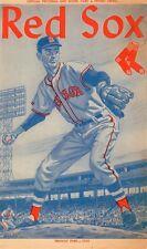 1960 Boston Red Sox Program/ Ted Williams HR 15/Last season
