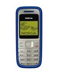 Unlocked Nokia 1200 2G GSM 900/1800 Mobile Phone Multi Languages Free Shipping