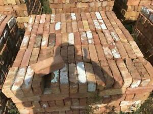 ORIGINAL RECLAIMED OLD CHICAGO BRICKS CLAY PAVERS/SOLD BY THE PALLET ONLY
