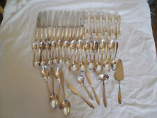 Bruckmann & Sohne BMN14 90 silver flatware 57pc 12 place setting Germany