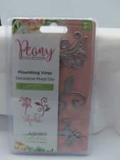 PEONY COLLECTION FLOURISHING VINES BY CRAFTERS COMPANION