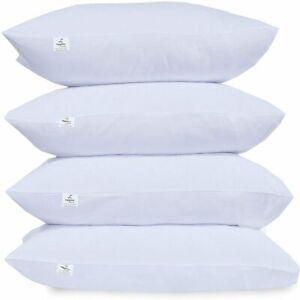 Bounce Back Polycotton Hollowfiber Filled Sleeping Pillows