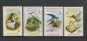 Anguilla - 1980, Christmas, Birds set - MNH - SG 416/19