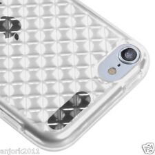 Apple iPod Touch 5 Candy Skin Tpu Gel Cover Case Accessory Diamond Clear