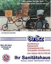Tarjeta telefónica sanitätshaus strätz 6 dm-tirada: 500 unidades rare phone Card