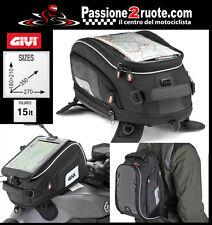 Borsa Serbatoio magnetica moto xs312 Tank Bag espandibile 15 litri moto
