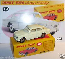 Dinky Toys Atlas Volvo 122 S White Cream 1/43 Ref 184 in Box C