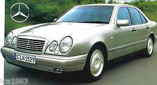 1995/1996/1997 Mercedes-Benz E280/e-280 SPEC Hoja / Folleto