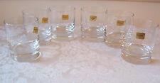 6 LUMINARC ISLANDE OLD FASHIONED GLASS TUMBLER(12AVAIL)ROCK FRANCE ARC D'ARQUES