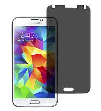 Blickschutzfolie Samsung Galaxy S5 Privacy Displayschutz Folie Antispy schwarz