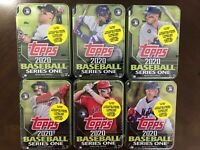 2020 Topps Series 1 Six (6) Factory Sealed Tins Complete Set SOLD OUT Trout Vlad