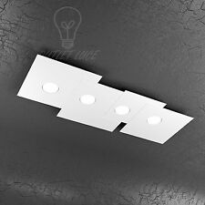 PLAFONIERA TOP LIGHT MODELLO PLATE 1129/PL4R-BI LED GX53 36W LUCE FREDDA INCLUSO