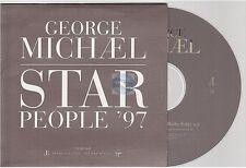 GEORGE MICHAEL star people '97 CD PROMO card sleeve