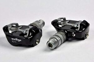 Wellgo RC-713 Road Bike/Mountain Bike Clipless Pedals W/ Cleats Fits 98A