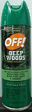 OFF! Deep Woods Insect Repellent - 6-ounce Spray - 25% DEET