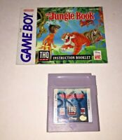 Disney's The Jungle Book Nintendo Game Boy Game & Instruction Manual