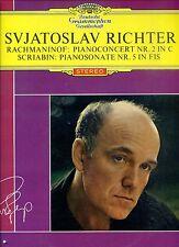 SVJATOSLAV RICHTER rachmaniof pianoconcert nr 2  in c DUTCH CLUB PRESSING EX