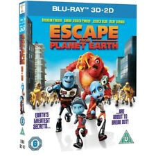 Escape From Planet Earth Blu Ray 3d 2d