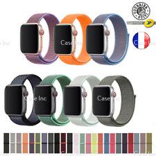 Bracelet Apple Watch Série 6 5 4 3 2 1 SE Nylon 38mm / 40mm / 42mm / 44 mm