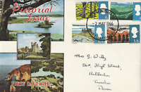 2 MAY 1966 BRITISH LANDSCAPES NON PHOS FIRST DAY COVER BIRMINGHAM FDI CANCEL