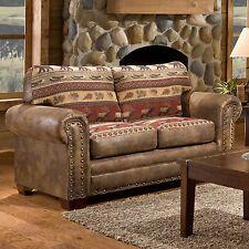 American Furniture Classics Sierra Lodge Loveseat, Multi-Color 8502-10 New