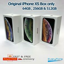 Original iPhone XS box only