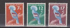 ndonesia Nederlands Nieuw New Guinea  54 - 56 MNH PF Kroonduif Crown Pigeon 1959