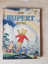 Original 1948 The Rupert Book (Annual)l(no2) War Economy