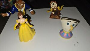 1991 Burger King Beauty And The Beast Happy Meal Toy Complete Set