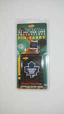 Score limited edition '95 NHL team logo Pin-Cards Brand New Toronto Maple Leaps