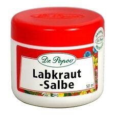 Labkraut Salbe, Falten Natur Originalkräutersalben des Dr. Popov 50ml