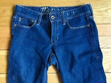 MADEWELL 26 30 RAIL STRAIGHT LEG Five Pocket Style Dark Wash Denim  Jeans  E