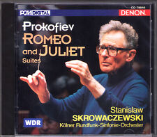 Stanislaw SKROWACZEWSKI PROKOFIEV Romeo and Juliet Suite 1-3  Prokofjew DENON CD