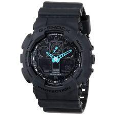Casio G-Shock Analog-Digital 200m Anti-Magnetic Dark Grey Resin Watch GA100C-8A