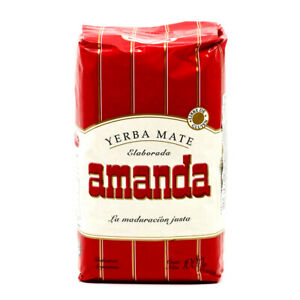 Amanda Yerba Mate Tea   Produced in Argentina
