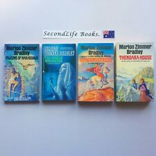 x4 Vintage DARKOVER Novels ~ Marion Zimmer Bradley. Sci Fi Fantasy. Hawkmistress