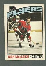1976-77 OPC O-Pee-Chee Hockey Rick MacLeish #121 Philadelphia Flyers *1