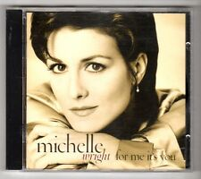 (GY337) Michelle Wright, For Me It's You - 1994 CD