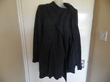Ladies grey tie neck cardigan size Uk12 euro40 from Evie
