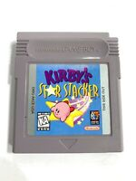 Kirby's Star Stacker ORIGINAL NINTENDO GAMEBOY Tested + Working & Authentic!